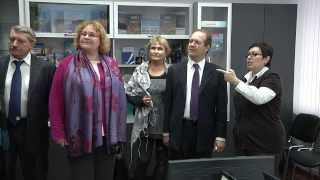 Делегация Европейского совета посетила УлГУ