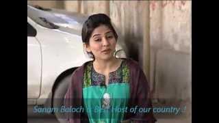 Sanam Baloch with Khawaja sarah.!
