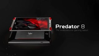 Predator 8 gaming tablet – it's audiodacious