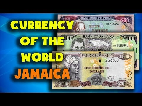 Currency of the world - Jamaica. Jamaican dollar. Exchange rates Jamaica. Jamaican banknotes