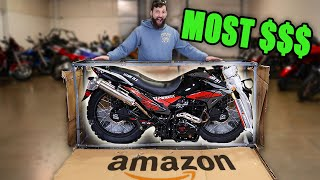 I BOUGHT The MOST EXPENSIVE street legal dirt bike on Amazon