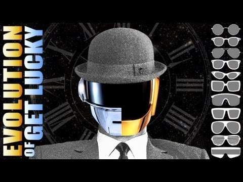 Evolution of Get Lucky [Daft Punk Chronologic cover by PV NOVA]