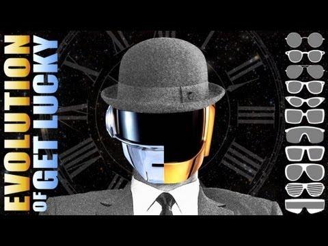 Evolution of Get Lucky Daft Punk Chronologic   PV NOVA
