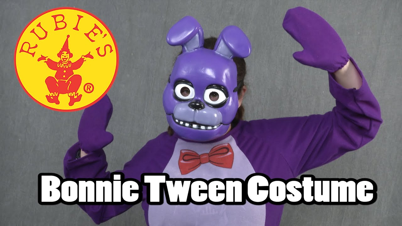 F fnaf bonnie costume for sale - Five Nights At Freddy S Bonnie Tween Costume From Rubies Costumes
