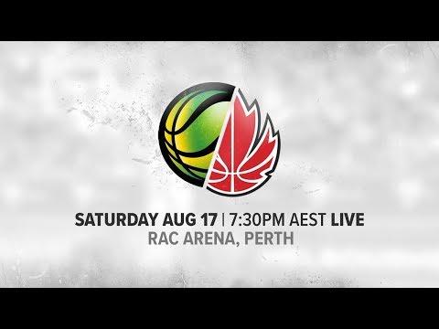 LIVE - Australia vs Canada
