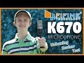 FiFine K670 USB Microphone Unboxing/Review/Test 2018 | As good as BLUE Snowball?