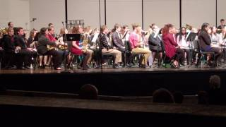 G.P. (2016) Premiere performance by  UMass Concert Band