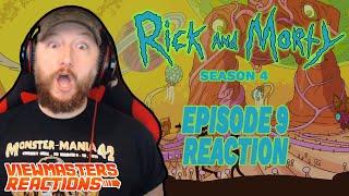 Rick And Morty Season 4 Episode 9 Reaction