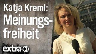 Reporterin Katja Kreml: Meinungsfreiheit in Deutschland