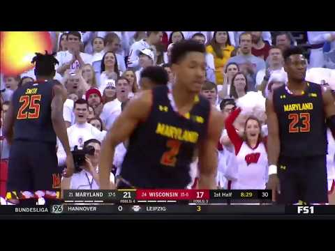 Highlights: Maryland at Wisconsin | Big Ten Basketball