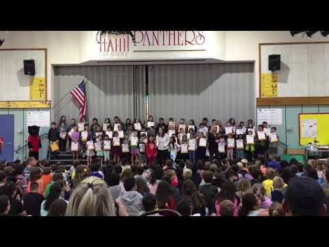 2019/05/28 Marguerite Hahn Elementary School Song