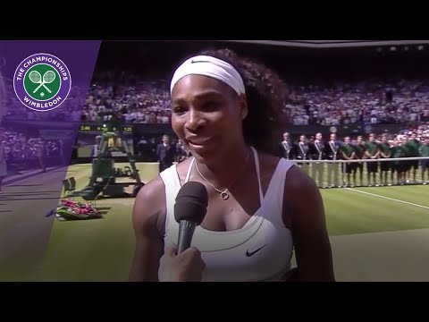Serena Williams predicted Garbiñe Muguruza's Wimbledon 2017 win
