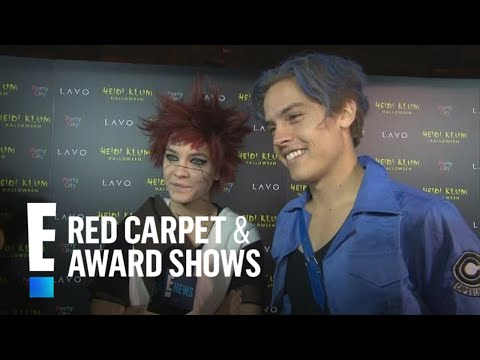 """Dylan Sprouse Will Be """"Cheering On"""" GF Barbara Palvin at VS Show 