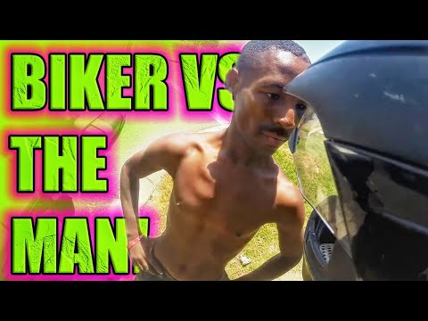 Thumbnail: Stupid & Angry People & Cops VS Dirtbikes and Road Bikers - ROAD RAGE