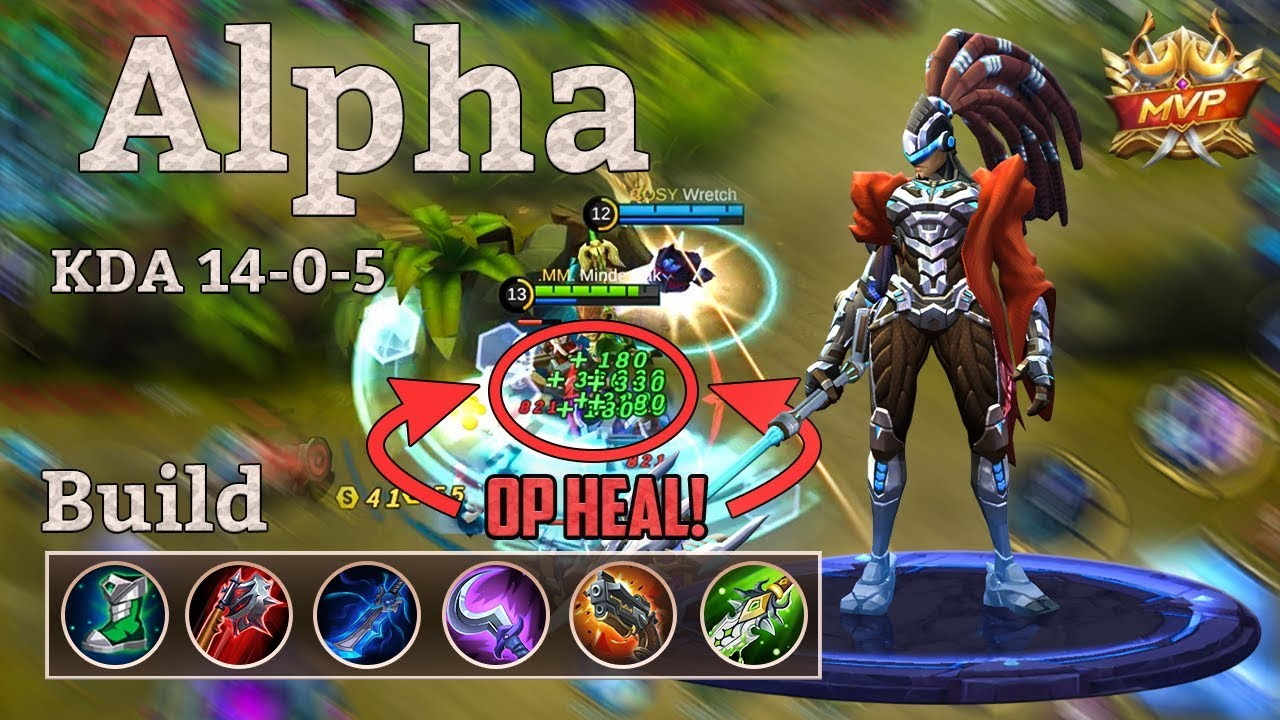 Best Build For Alpha Mobile Legends