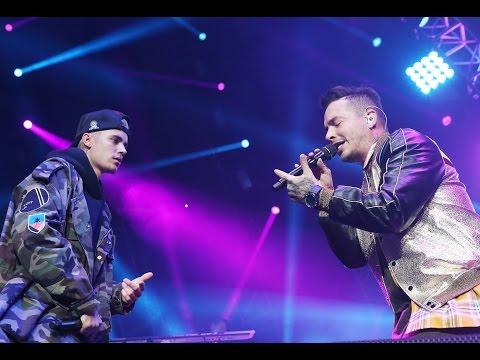 Justin Bieber y J Balvin Presentan Juntos...