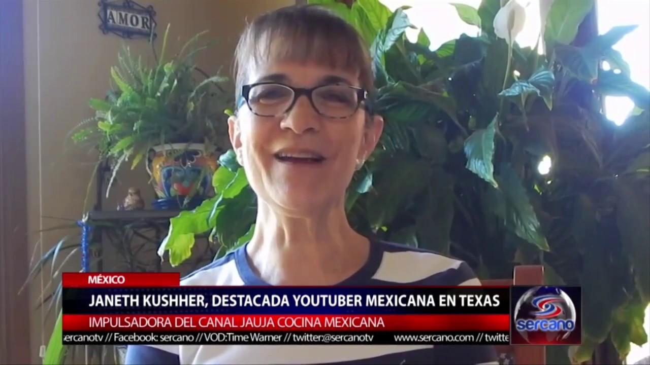 Entrevista En Tv Con Janet De Jauja Cocina Mexicana Youtube