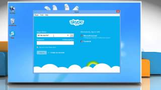 How to change the font of Skype® IM on Windows® 8 PC