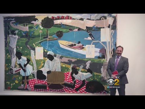 Kerry James Marshall Painting Fetches $18,500,000 In Auction