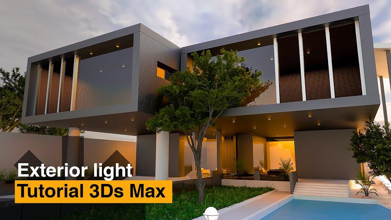 Exterior: 3D Max Creative Exterior Vray3.2 ,Photoshop,CameraRaw