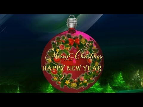 Merry Christmas 2021 Happy New Year Youtube