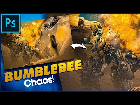 Bumble Bee | Speed Art | Photoshop!