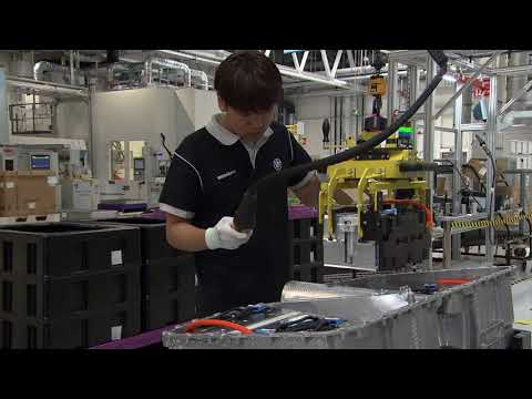 Production at all BMW Brilliance Plants in China - Production of high voltage batteries