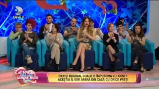 Te vreau langa mine! (21.02.2017) - Dan si Bogdan, coalitie impotriva lui Costi! Partea 1