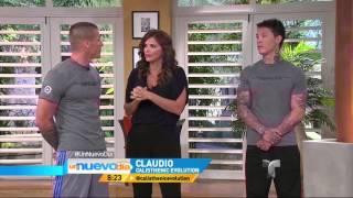 Calisthenics Evolution Institute at Telemundo TV Channel