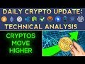 CRYPTOS MOVE EVEN HIGHER! BACK TO HIGHS SOON? (1/1/18) Daily Update + Technical Analysis
