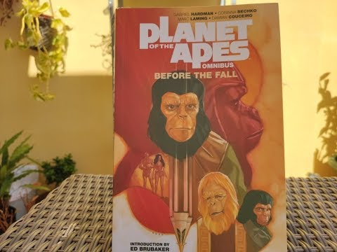 Planet Of The Apes: Before The Fall omnibus, de Gabriel Hardman, Corinna Bechko y VV.AA.