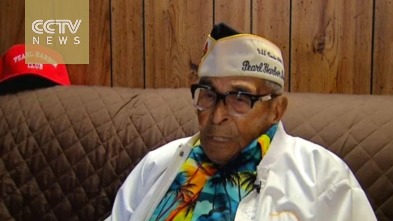 104-year-old Pearl Harbor survivor returns for 75th Anniversary