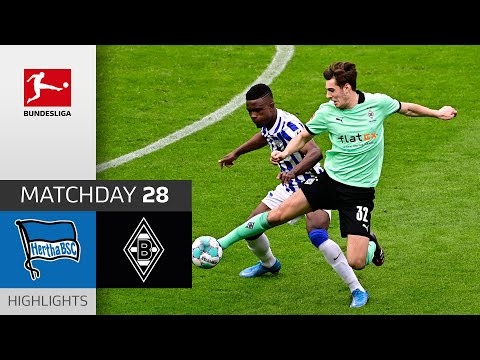 Hertha Berlin Borussia Moenchengladbach Goals And Highlights