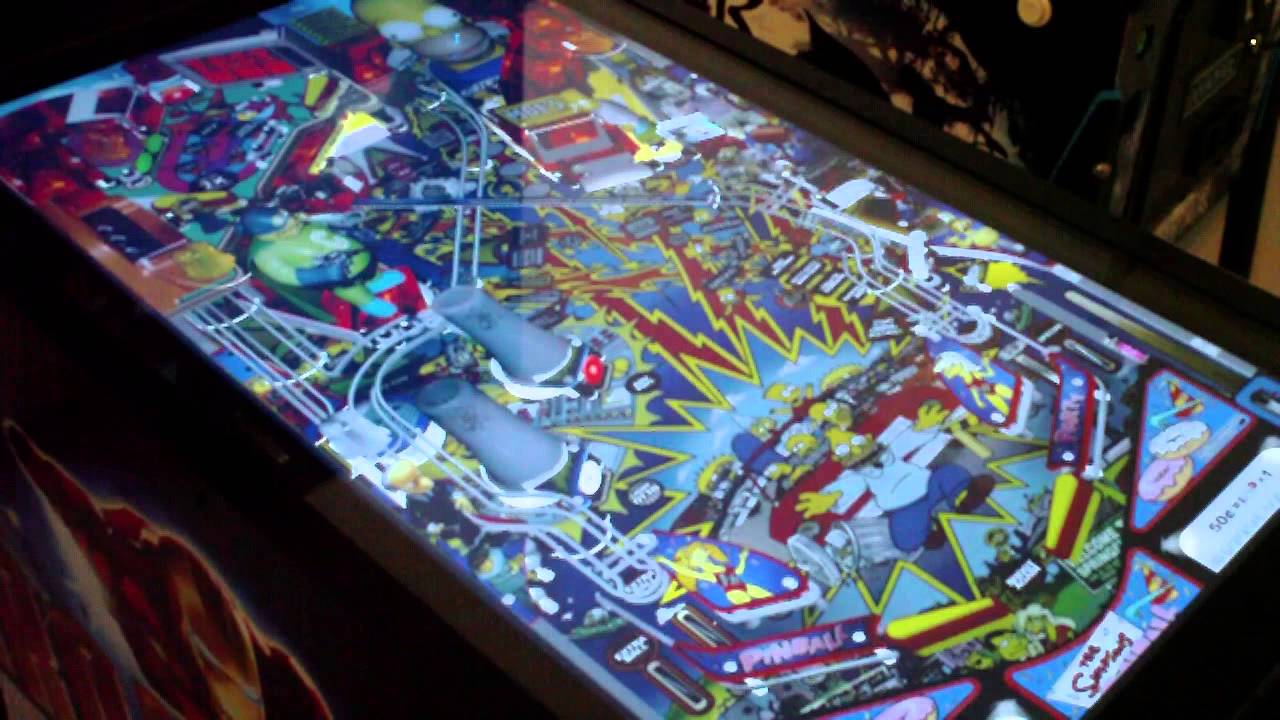 Virtual Pinball Machine Arcade Game Ultimate SuperPin Mid-Size ...