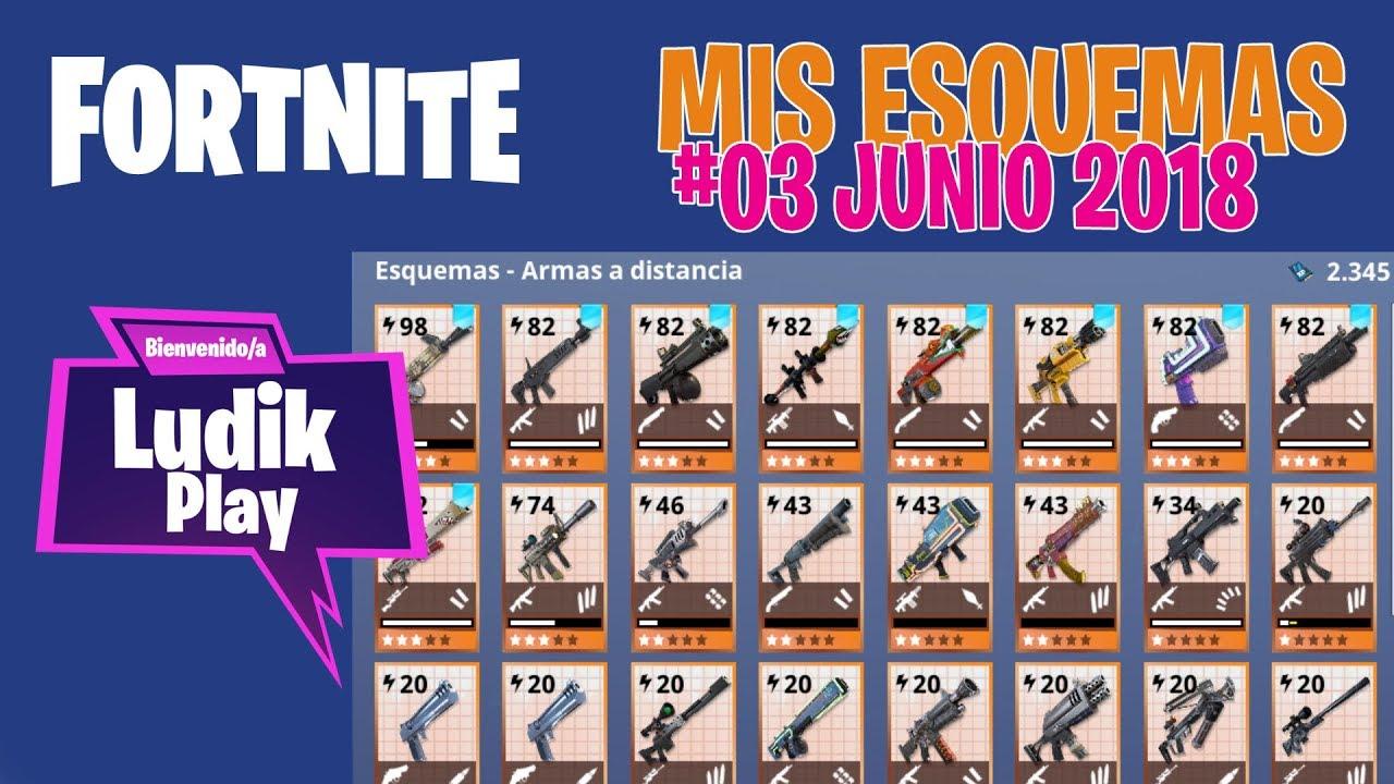 #03 MIS ESQUEMAS JUNIO | FORTNITE SALVAR EL MUNDO | Gameplay español
