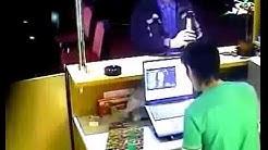 Schlechter Verlierer im Casino
