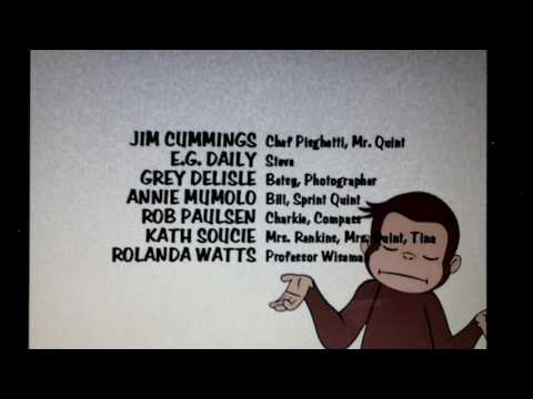 PBS Kids Curious George White Closing Ending Credits