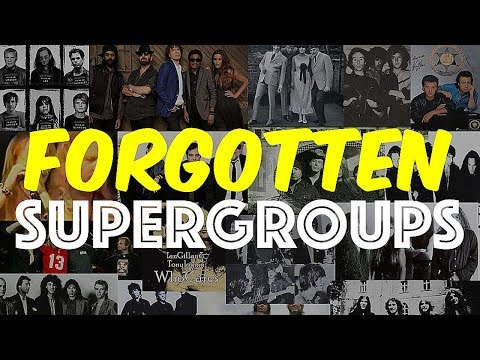 Rock's Forgotten Supergroups