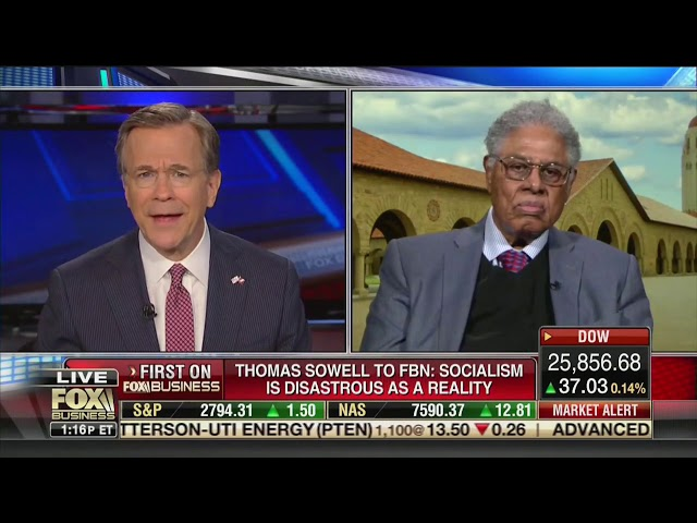 Image result for thomas sowell fox business