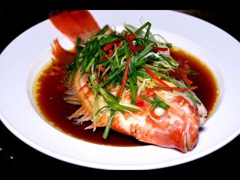 Chinese Steamed Fish * 中式蒸魚 *