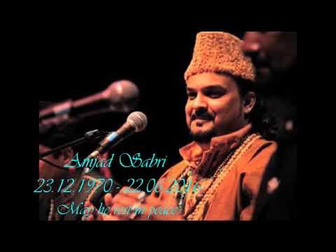 Amjad Sabri Tajdar e haram Full qawali   YouTube