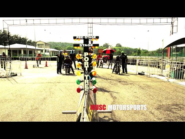 DRAG RACE 201M - 4T150 STD BDY - RKM KBS MALAYSIAN DRAG RACING 2013 R2 Travel Video