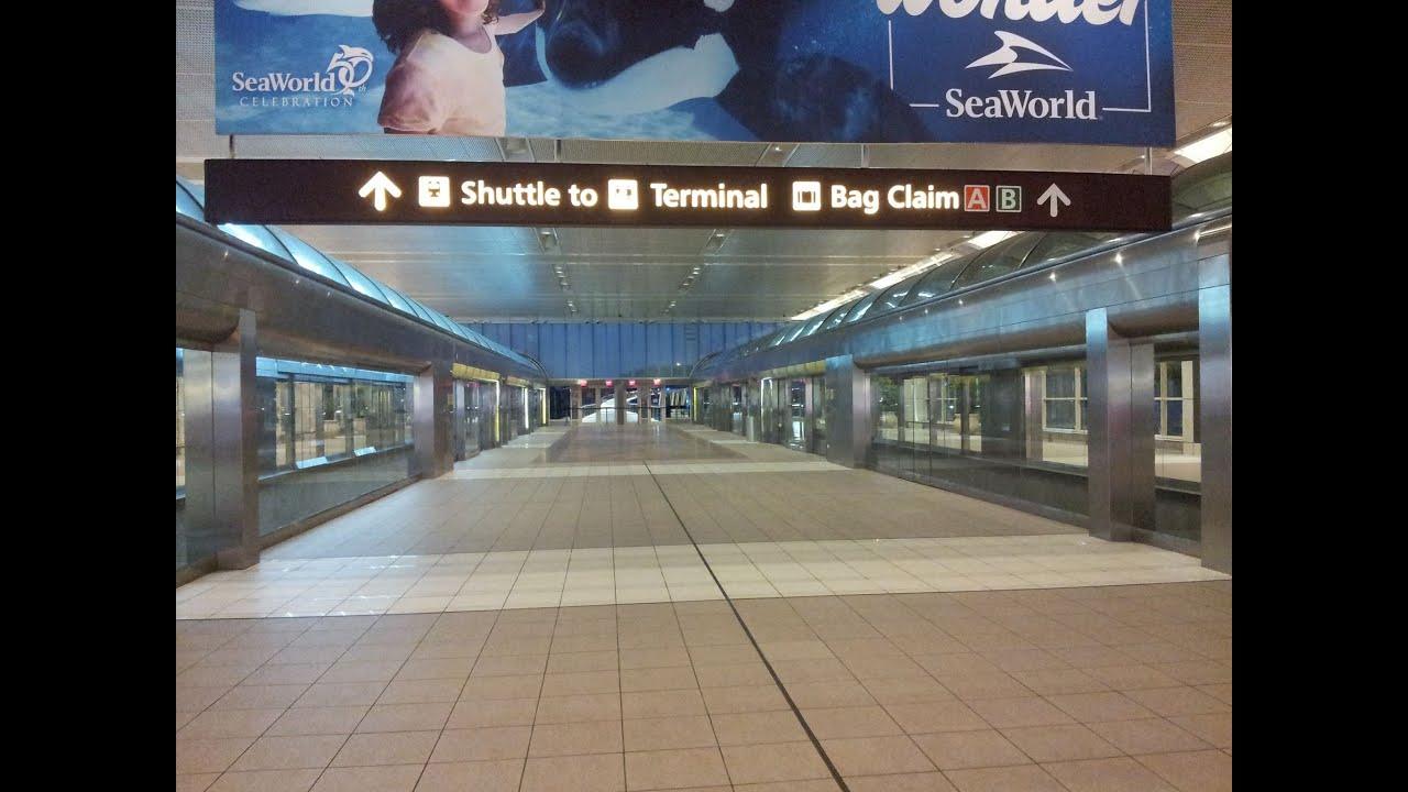 Orlando International Airport Rental Cars In Terminal