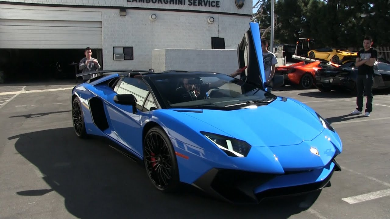 Lamborghini Newport Beach Supercar Show!   YouTube