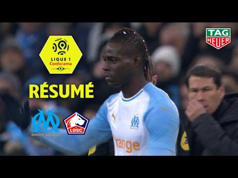 Olympique de Marseille - LOSC ( 1-2 ) - Résumé - (OM - LOSC) / 2018-19