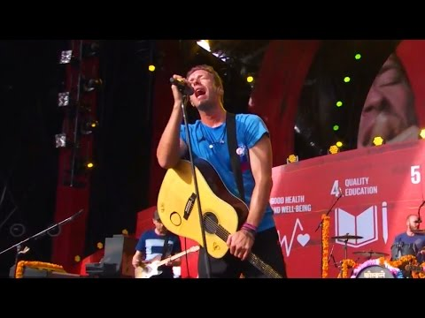 Coldplay Live @ Global Citizen 2015