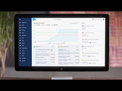 Salesforce Financial Services Cloud - Industry Product Demo