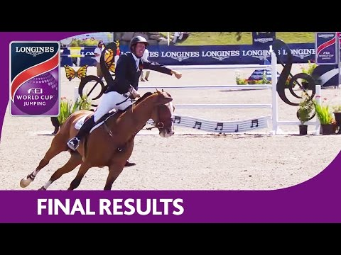 Final Results | Longines FEI World Cup™ Jumping 2016/17 | Bromont (CAN)