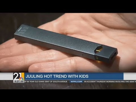 The dangers of e cigs and juuling (WFMJ)