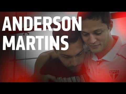 REFORÇO: O PRIMEIRO DIA E OS REENCONTROS DE ANDERSON MARTINS | SPFCTV
